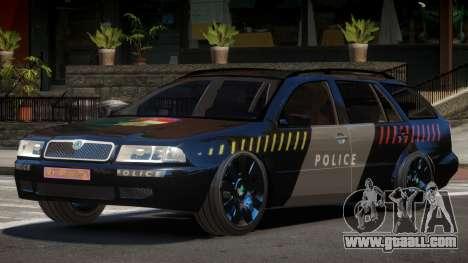 Skoda Octavia LS Police for GTA 4
