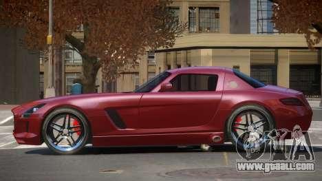 Mercedes-Benz SLS E-Style for GTA 4