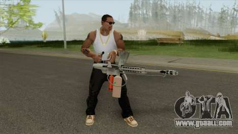 Flame Thrower (HD) for GTA San Andreas
