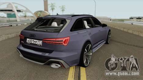 Audi RS6 2020 for GTA San Andreas