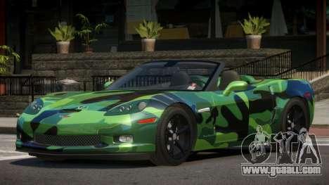 Chevrolet Corvette SR PJ3 for GTA 4