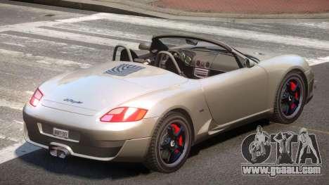 RUF RK Roadster V1.1 for GTA 4