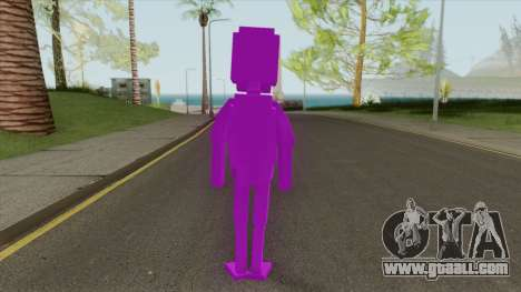 Purple Guy (FNAF) for GTA San Andreas