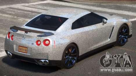 Nissan GT-R Qz PJ2 for GTA 4