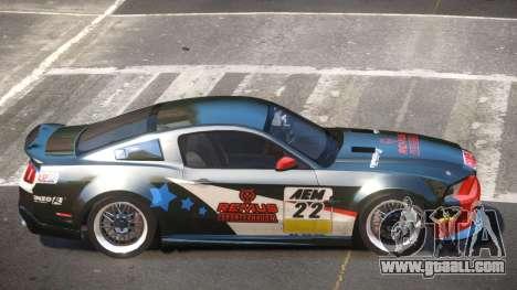 Shelby GT500 SR PJ5 for GTA 4