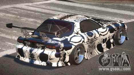 Mazda RX-7 RT Tuning PJ3 for GTA 4