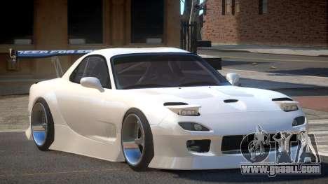 Mazda RX-7 RT Tuning for GTA 4