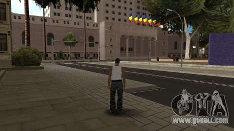 Romanian HQ Roads v2 for GTA San Andreas