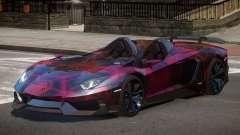 Lamborghini Aventador Spider SR PJ3 for GTA 4