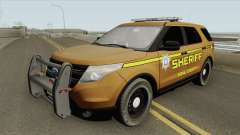 Ford Explorer 2012 (Bone County Sheriff) for GTA San Andreas