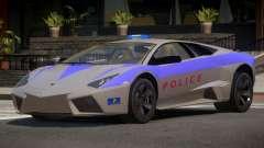 Lamborghini Reventon Police for GTA 4