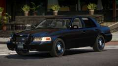 Ford Crown Victoria BE Police V1.1 for GTA 4