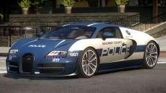 Bugatti Veryon Police V1.0 for GTA 4