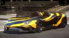 Lamborghini Aventador Spider SR PJ5 for GTA 4