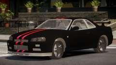Nissan Skyline R34 SR for GTA 4