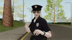 Rubia Policeman V2 (Bugstars Equipment) for GTA San Andreas