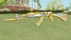 AK-47 (Knife Iron Beast) for GTA San Andreas
