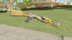 AK-47 (Beast Imperial Gold) for GTA San Andreas