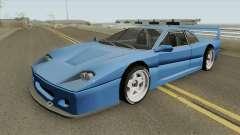 Turismo F40-GT (BlueRay) for GTA San Andreas