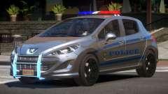Peugeot 308 Police for GTA 4