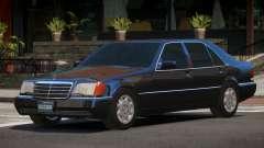 1993 Mercedes 600SEL for GTA 4