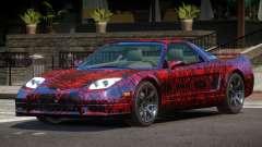 Acura NSX GT PJ1 for GTA 4