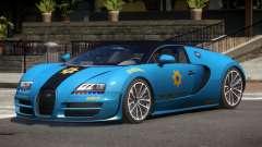Bugatti Veryon Police V1.1 for GTA 4