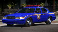 Ford Crown Victoria NYS Police for GTA 4