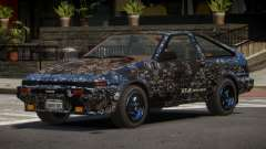Toyota AE86 GT-S Hatchback PJ4 for GTA 4