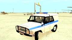 The Police UAZ 31512 for GTA 4