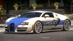 Bugatti Veryon Police V1.2 for GTA 4