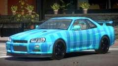 Nissan Skyline R34 E-Style PJ5 for GTA 4