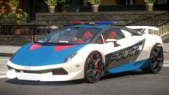 Lamborghini SE Police V1.4 for GTA 4
