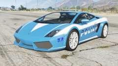 Lamborghini Gallardo Polizia for GTA 5