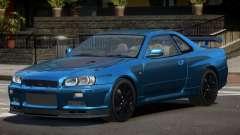 Nissan Skyline GT-R R34 Qz for GTA 4