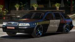 Skoda Octavia LS Police for GTA 4