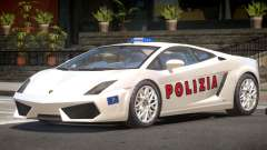 Lambo Gallardo SR Police for GTA 4