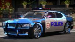Dodge Charger LS Police for GTA 4