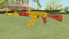 AKM (Gold Cartel) V2 for GTA San Andreas