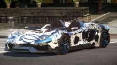Lamborghini Aventador Spider SR PJ6 for GTA 4