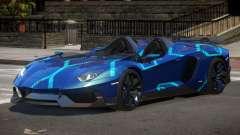 Lamborghini Aventador Spider SR PJ2 for GTA 4