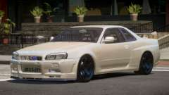 Nissan Skyline R34 V2.1 for GTA 4
