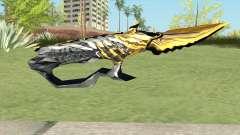 Knife (Born Beast Noble Gold) for GTA San Andreas