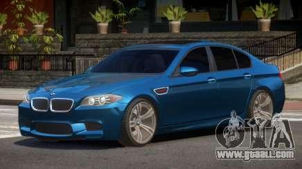 BMW M5 F10 V2.1 for GTA 4