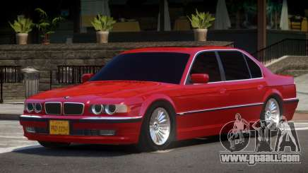 1993 BMW 750iL E38 for GTA 4