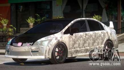 Honda Civic R-Tuning PJ2 for GTA 4