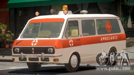 RAF 2203 Ambulance V1.0 for GTA 4