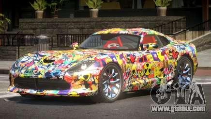 Dodge Viper GTS R-Tuned PJ1 for GTA 4