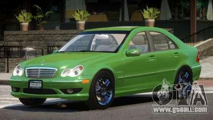Mercedes Benz C32 V1.1 for GTA 4