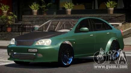 Chevrolet Lacetti L-Tuned for GTA 4